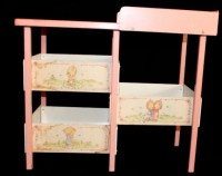 Vintage Doll Changing Table. by RescuedTreasureShop on Etsy