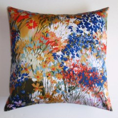 Cleaning White Fabric Sofa Standard Dimensions In Inches Throw Pillow Cover Floral Accent Decorative Cushion