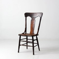 Antique Windsor Chair Wedding Hire Hamilton Nz Fiddleback 1900s Wood