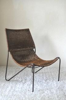 Mid Century Modern Frederic Weinberg Style Sling Scoop