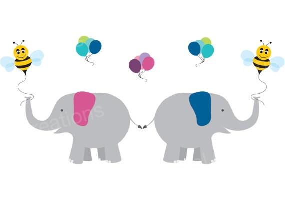 elephant clipart fun balloon clip
