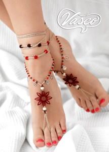 Boho Hippie Barefoot Sandals