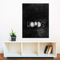 The Power of Words Fine Art Wall Sticker Decal by ...