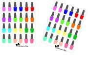 g016 nail polish bottle stickers