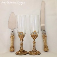 Cake Server and Toasting Flute Set Toasting by ...