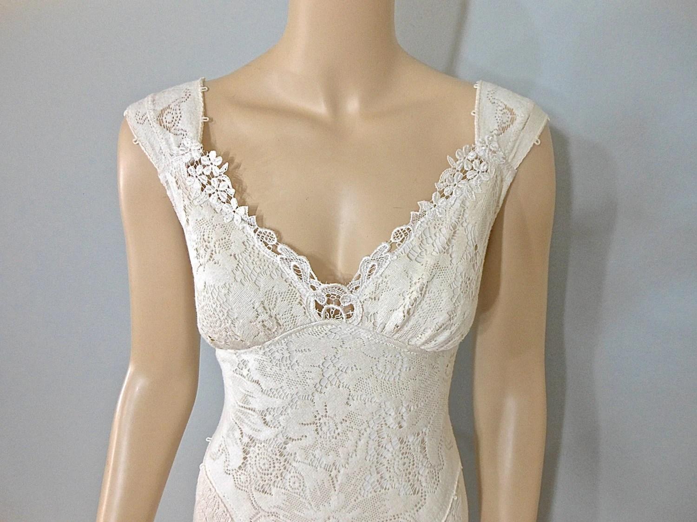 Vintage Inspired Wedding Dress Mermaid Wedding By