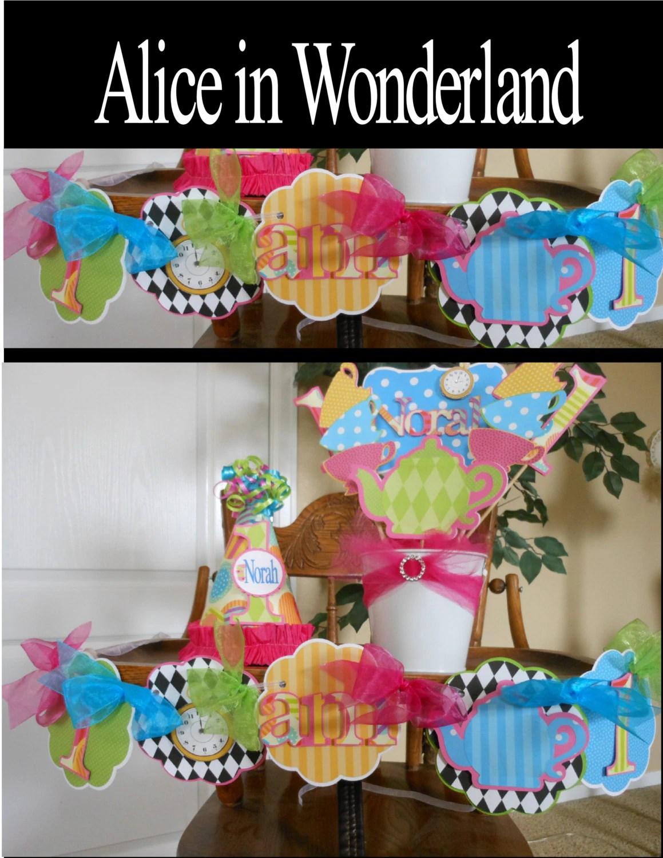 alice in wonderland chair aqua blue adirondack chairs high banner one tea party