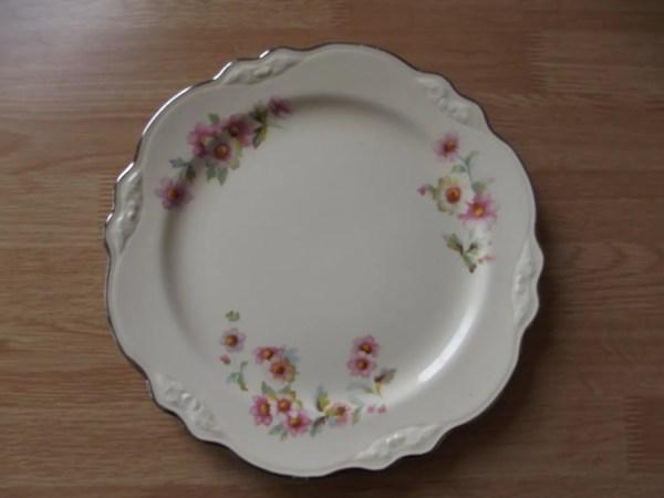 Homer Laughlin Virginia Rose Vintage China Plate Perfect