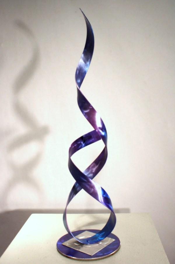Alex Kovacs Metal Art Abstract Table Sculpture Modern Table