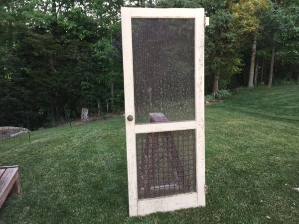 Antique Screen Door Farmhouse Door Porch Screen Door