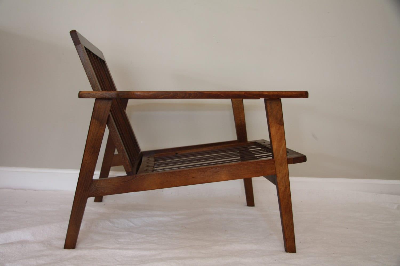 yugoslavian folding chair pewter place card holders mid century modern lounge  haute juice