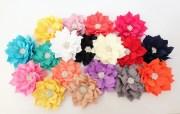 large fabric flowers diy headbands