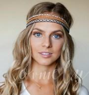 bohemian hippie stretch headband