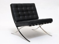 Iconic Barcelona Chair Mid Century Modern  1929 Design
