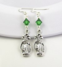 Golf Earrings choose a color Golf Jewelry Golf by ...