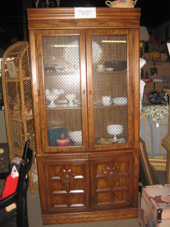Vintage china cabinet haute juice
