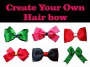 create hair bow jobiehairfashion
