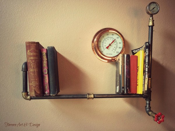 Steampunk Wall Shelves