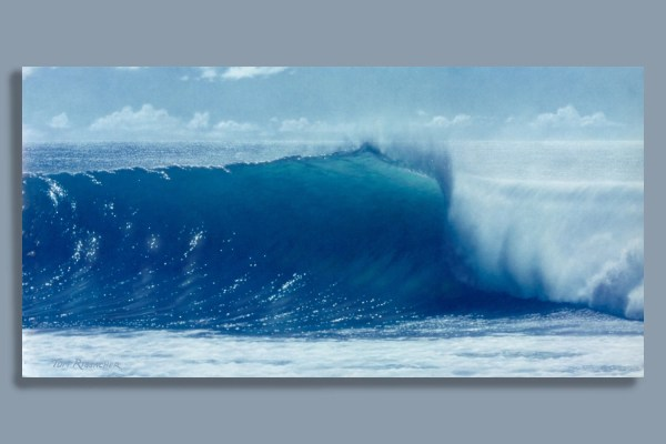 Surf Art Print Gordon' Wave Airbrush