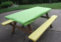 picnic bench cover picnic table and seat cover set with ...