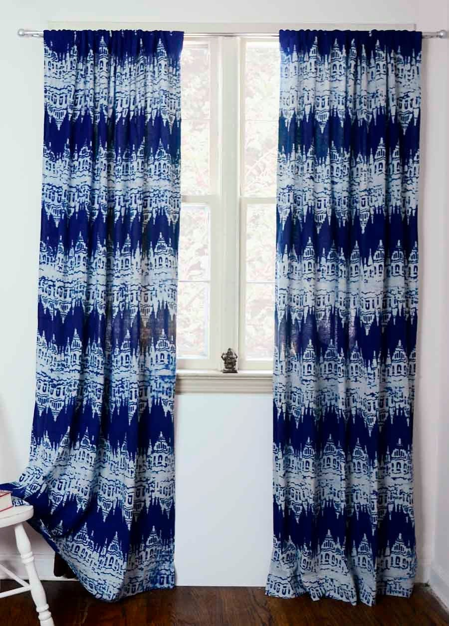 Ikat Curtains Etsy