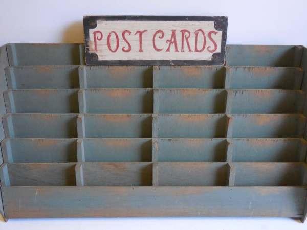 Vintage Greeting Card Display Rack