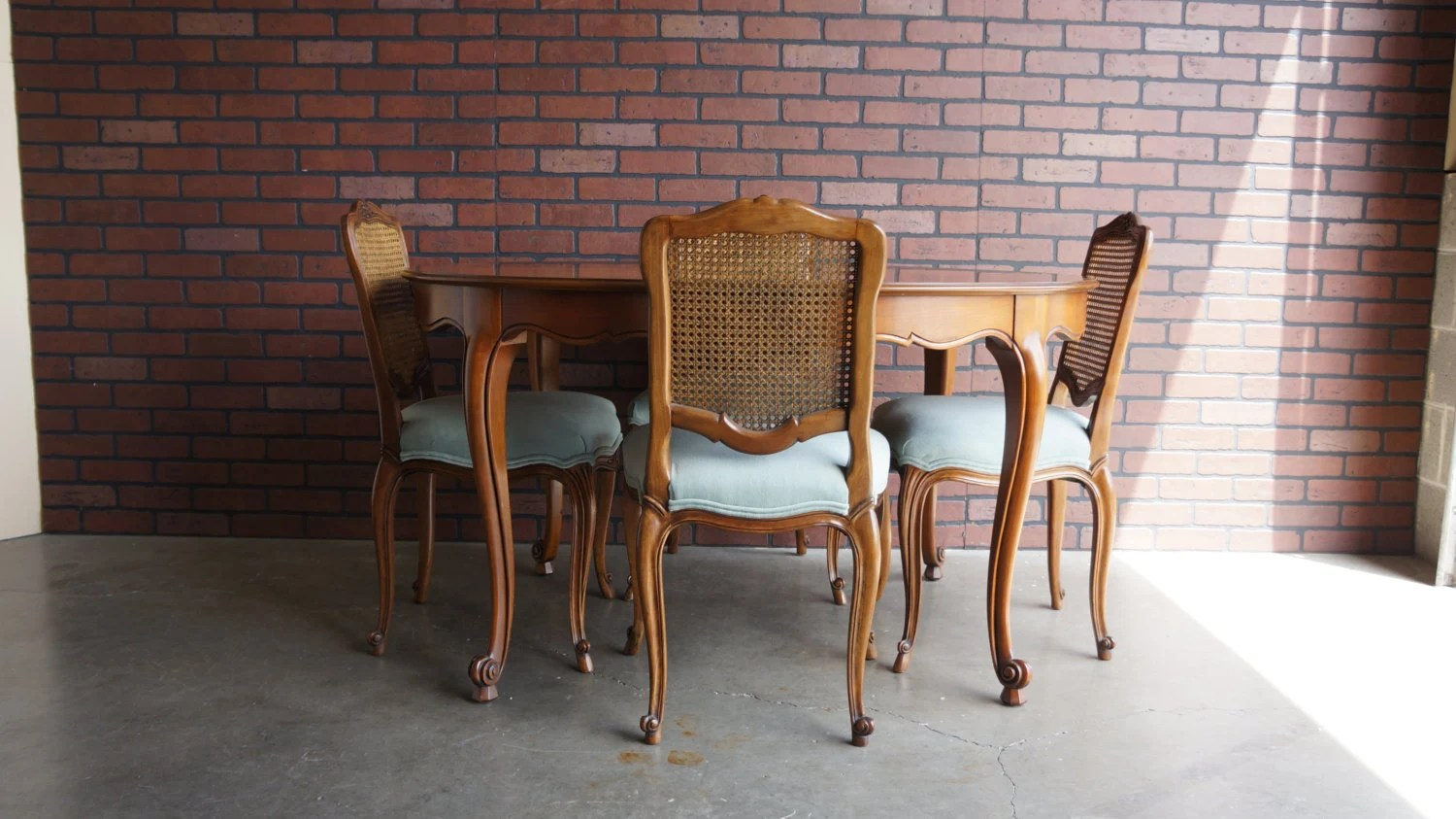 french cane back dining chairs children s couch and chair set provincial