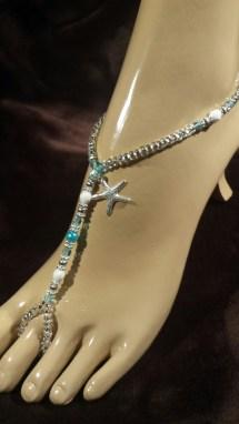 Starfish Barefoot Sandals Foot Jewelry