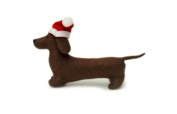 Dachshund Ornament Christmas Topper