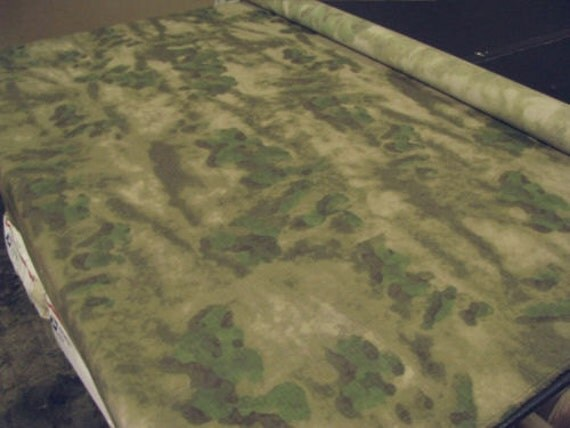 ATACFG Poly Cotton Ripstop Camouflage Fabric Military Spec