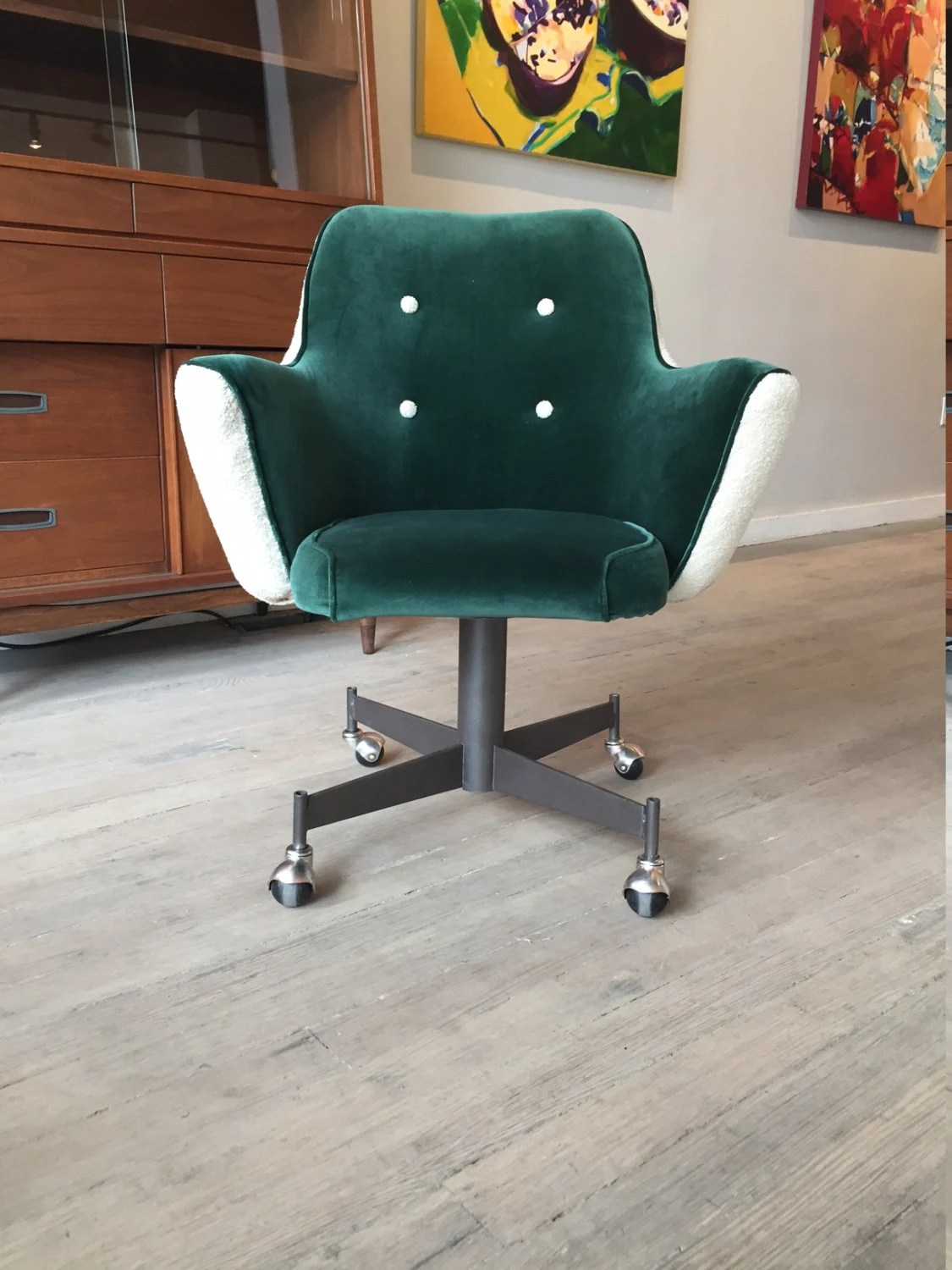 green velvet swivel chair eames price office free shipping by raindropsgallery