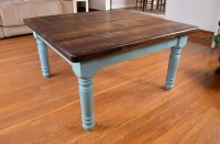 Rustic Coffee Table Farmhouse Coffee Table by ...