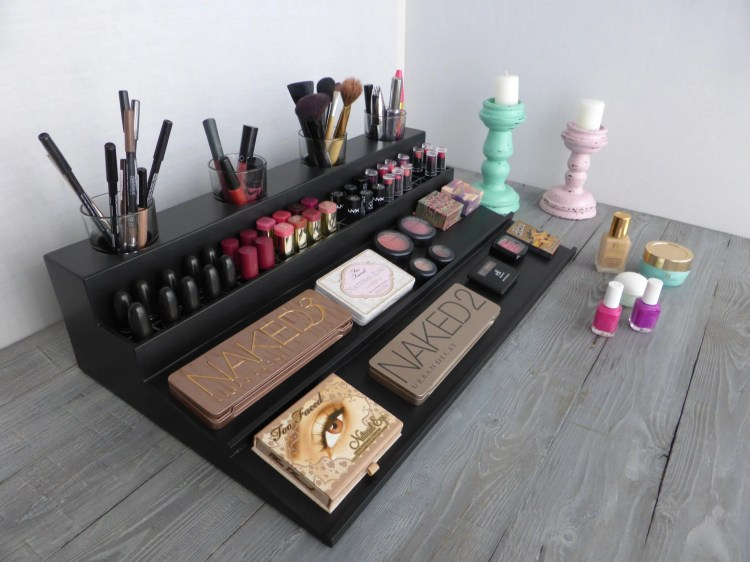 Image Result For Makeup Storage Ideas That Will Have Both The Bathroom