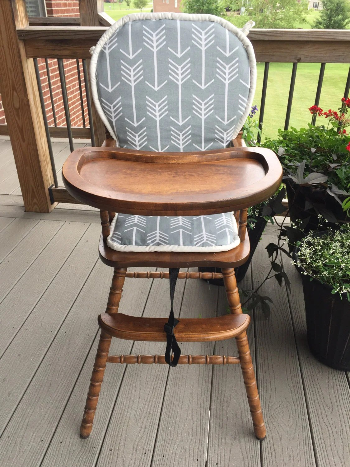 Chair Pad Covers Highchair Cover High Chair Cover High Chair Cushion