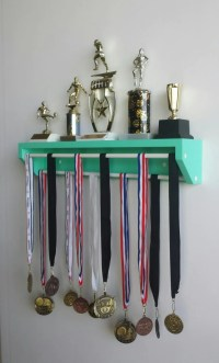 Trendy Display-Petite Version Aqua. medal holder trophy