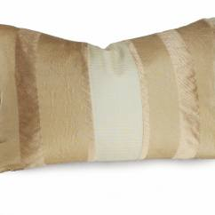 Cream Colored Sofa Pillows Christopher Knight Home Chesterfield Tufted Leather Metallic Striped Pillow Gold Accent Covers