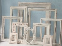 wedding PICTURE FRAMES shabby chic distressed by TheArtofChic
