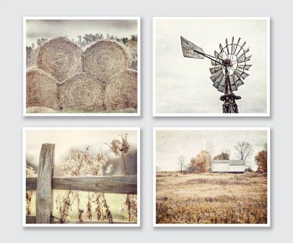 Farmhouse Decor Country Rustic Wall Art