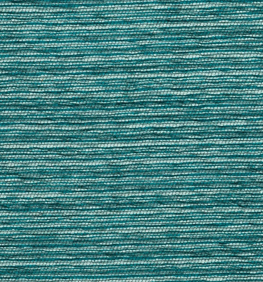 Teal and Grey Chenille Upholstery Fabric by the Yard