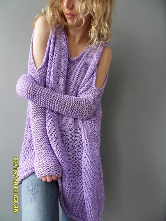Oversize Chunky Women Sweater SlouchyBulky Loose Knit
