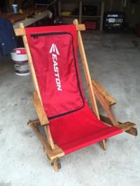 Hockey Bag Collapsible Beach Chair