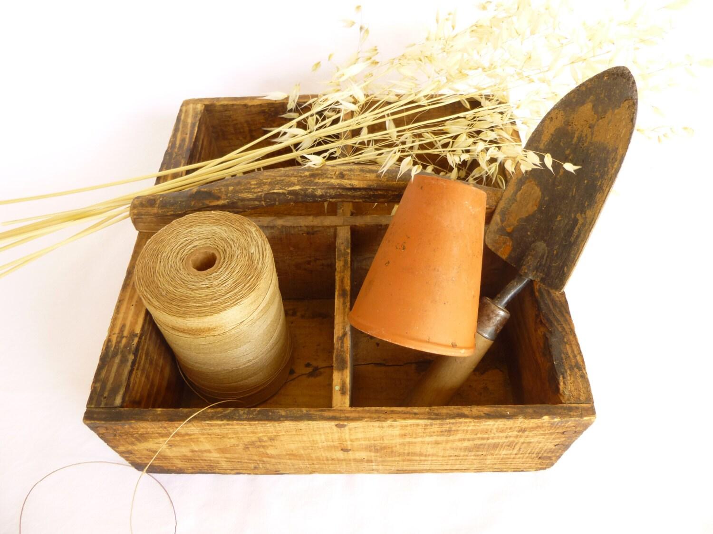 antique bo te outils bois de r cup ration 1930 caisse