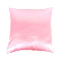 Pink Throw Pillows For Sofa Ikea Kivik Covers Uk Pillow Satin By