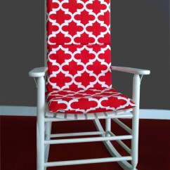 Dorm Chair Covers Etsy Plans For Adirondack Footstool Rocking Cushion Cover Fynn Red