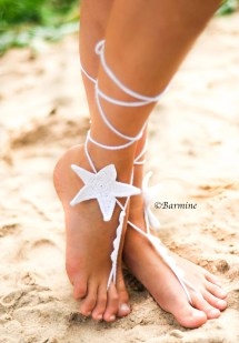 Starfish Barefoot Sandals Wedding