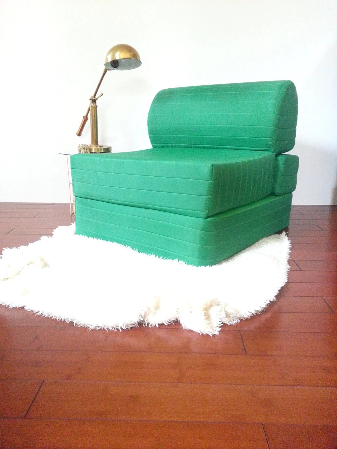 Foam Flip Chair Vintage Retro Chair Foam Flip Out Chair To Bed 70 S 80 S