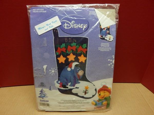 Disney Eeyore Christmas Stocking In Package