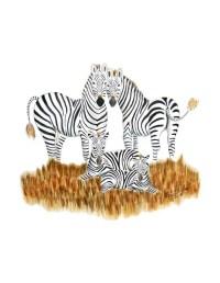 Zebra Art Baby Room Decor Safari Nursery Art by TinyToesDesign