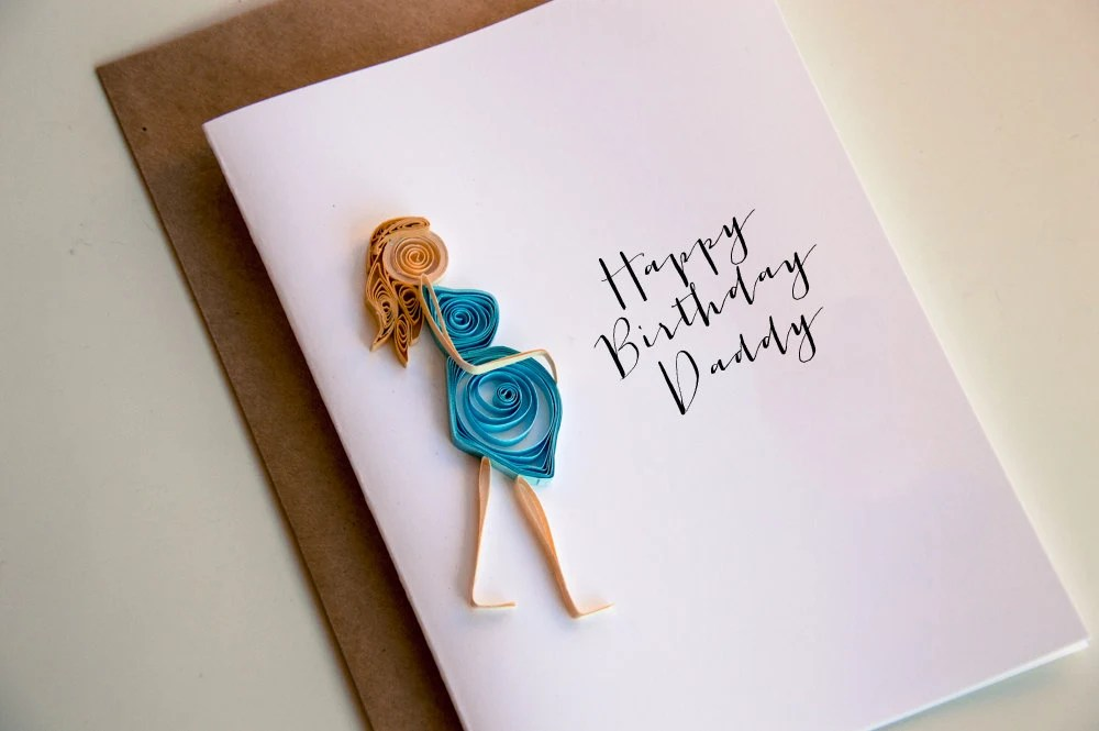 Customizable Happy Birthday From The Baby Bump Pregnancy