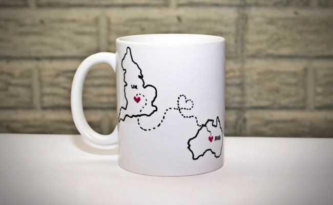 Long Distance Coffee Mug Best Friends Mug By Daisychainonline